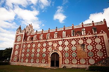 Convent of Santo Domingo, Uayma, Yucatan Peninsula, Mexico.
