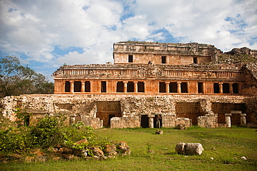 Mayan arqueological site Sayil, Yucatan, Mexico.