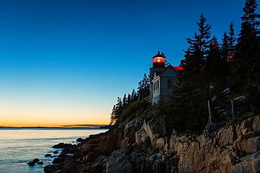 Bass Harbor Lighthouse, Acadia National Park, Maine, USA.