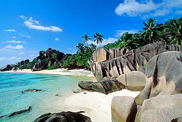 Anse Source d'Argent, La Digue island, Republic of Seychelles, Indian Ocean