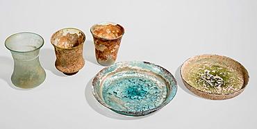 Roman Glass 2-4 century BCE.