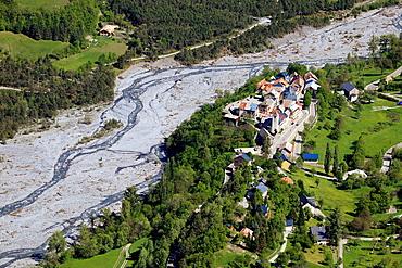 Saint Martin d'Entraunes,Var valley, Alpes-Maritimes, 06, Mercantour national park, PACA, France.