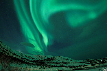 Northern lights in Norway.