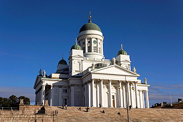 St. Nicholas cathedral. Evangelical Lutheran cathedral of the Diocese of Helsinki, located in the centre of Helsinki, Finland.