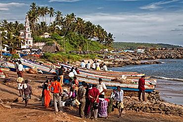 Vizhinjam beach. india.