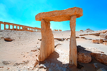 Gate of Heracles in ancient city of Palmyra, Syria.