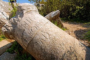 Antique city of Termesos (Termessus) Taurus Mountain, Turkey, Western Asia.