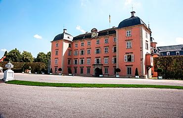 Schloss Schwetzingen Palace, entrance side, Schwetzingen Germany