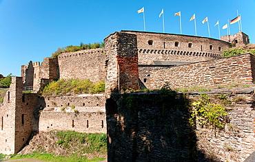 Rheinfels Castle, Sankt Goar, Germany.