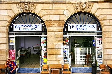 On Quai Richelieu, Bordeaux, Gironde, Aquitaine, France