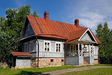 House of Rimsky-Korsakov, Russian composer, Liubensk, near Pskov, Russia.