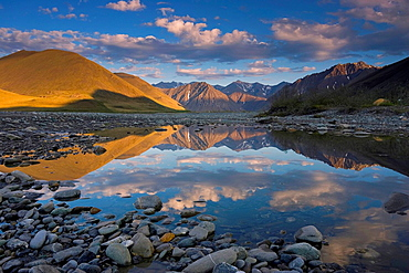 Pools along the Kongakut River provide perfect photographic opportunities for reflections