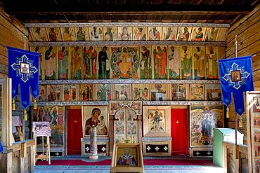 Church of the Intercession of the Mother of God, Pokrovskaia Tserkov, 1764, Kizhi Island, Onega lake, Karelia, Russia.