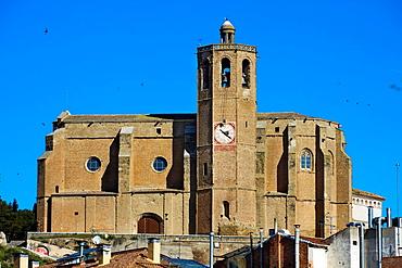 Santa Maria church. Gothic. Balaguer, Noguera count, Lleida province, Catalunya.