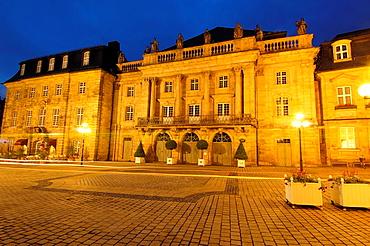 Bayreuth, Opera House, Opera del Margrave, Opera Street, Opernstrasse, Upper Franconia, Franconia, Bavaria, Germany.