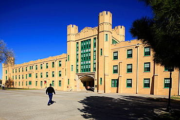 New Mexico Military Institute. Roswell. New Mexico. USA.