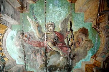 Salvador de Bahia, Bahia, Brazil, fresco at Igreja da Ordem Terceira Secular de Sao Francisco da Bahia