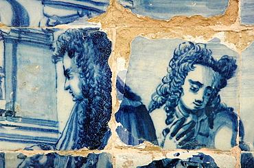 Salvador de Bahia, Bahia, Brazil, azulejo at Igreja da Ordem Terceira Secular de Sao Francisco da Bahia