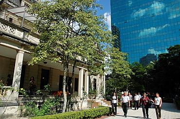 Sao Paulo, Brazil, the Casa das Rosas ('Roses House') along the Avenida Paulista