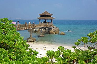 Sanya Wuzhi Zhou Island, Hainan Island, China.