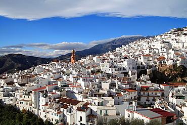 Competa, Andalusia, Spain.