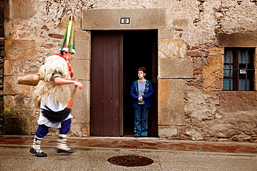 Zapantzar carnival. Ituren. Navarre, Spain