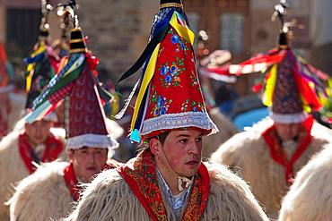 Carnival of Ituren and Zubieta, Zanpantzar, Ituren, Navarre. Spain