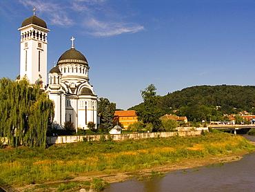 Europe, Romania, Transylvania, Sighisoara, Orthodox Church.