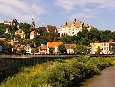 Europe, Romania, Transylvania, Sighisoara, Citadel.