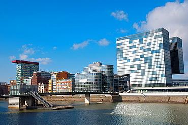 Hafen district Dusseldorf city North Rhine Westphalia region western Germany Europe.