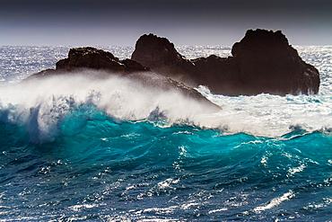 Swell. Punta de Teno. Tenerife, Canary Islands, Spain.