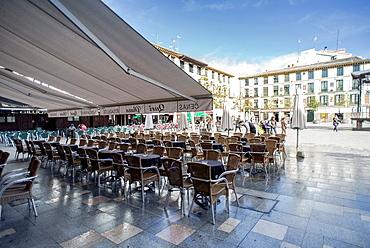 Fueros Square of Tudela, Navarre.