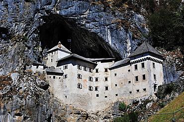 Predjama Castle, next Postojna. Slovenia