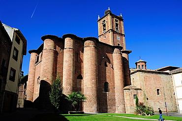Church of Santa Maria la Real XV-XVI centuries. Najera, La Rioja, Spain