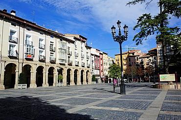 Market Square. Logrono, La Rioja, Spain