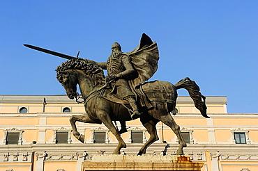 Monument to Cid. Burgos, Spain.