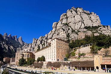 Monastery of Montserrat, Barcelona province, Catalonia, Spain