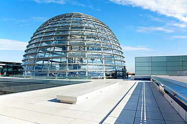 Reichstag Dome, Berlin modern achitecture of the governament building