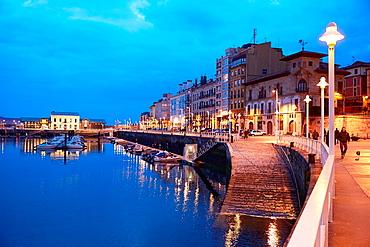 Port, Marina, Gijon, Asturias, Spain.