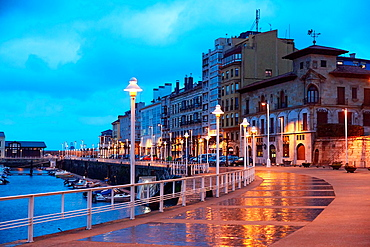 Port, Marina, Gijon, Asturias, Spain.