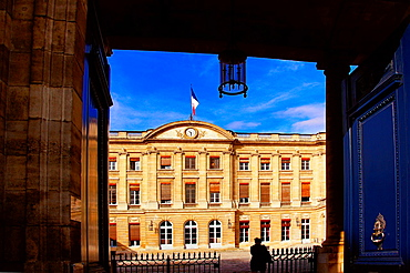 Palais de Rohan (18th century), Bordeaux's Town Hall, Gironde, Aquitaine, France