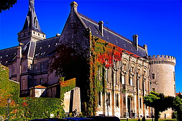 Former Castle of the Counts of Angouleme, now the Town Hall at Angouleme, Charente, Poitou-Charentes, France