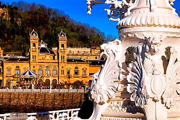 Twon Hall, San Sebastian, Guipuzcoa, Basque Country, Spain