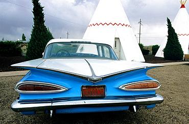 Gallup, New Mexico, USA, Motel.