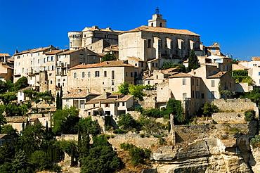 Gordes, Hill Village, Luberon, Provence, France.