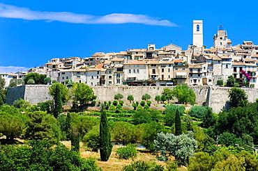 Saint Paul, St. Paul de Vence, Alpes Maritimes, Medieval Hilltop Village, Provence, France.