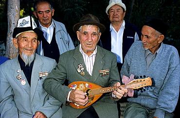 II War Veterans in a Sanatorium, Kyrgyzstan.