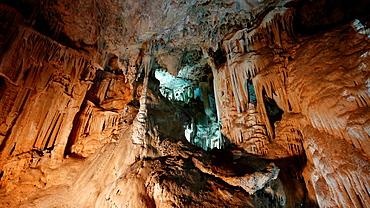 Nerja caves, Malaga province, Spain