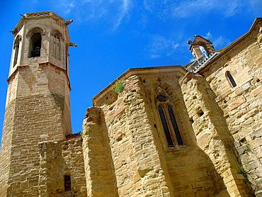 Church of San Lorenzo, Lleida, Spain.