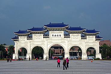 The Freedom Gate, Taipei, Taiwan.